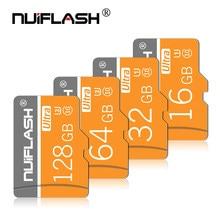 Cartão de alta velocidade do sd do cartão de memória 16gb 32gb class10 micro cartões 64 gb do flash tf c10 cartao de memoria 128 256 gb para o telefone
