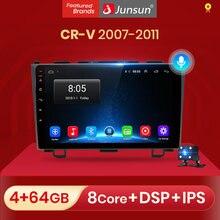Junsun Radio samochodowe AI sterowanie głosem 2GB + 32GB Android 10 dla Honda CR-V 3 RE CRV 2007-2011 Radio samochodowe multimedialny odtwarzacz wideo RDS