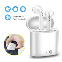 2019 Ini Baru Tws Mini Headset 5.0 Bluetooth Earphone Stereo Bass Wireless Headset Earbud dengan MIC untuk Ponsel Xiaomi Samsung(China)