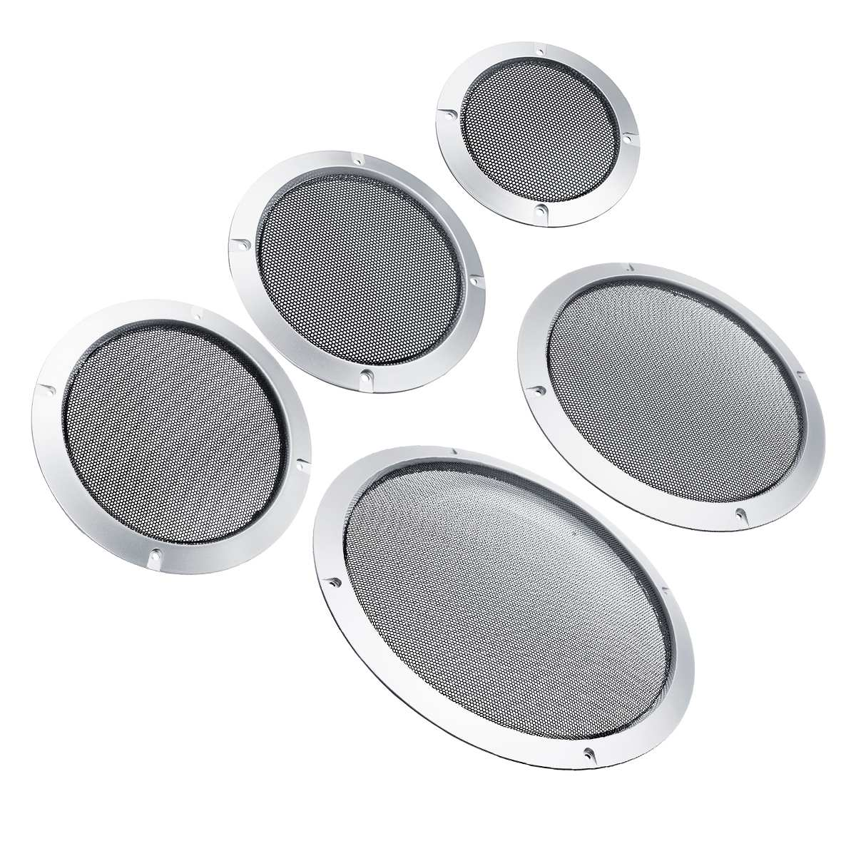1ps 6.5 inch Car audio protection grille Car Speaker decorative circle Net cover