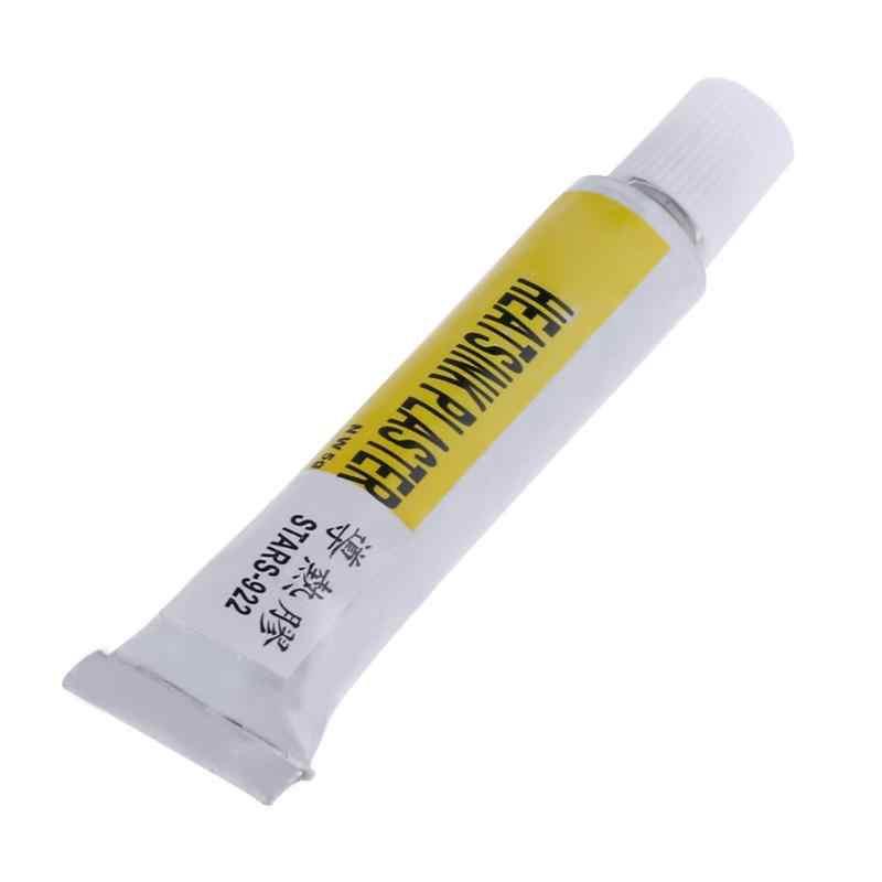 2 estrelas dos pces-922 do dissipador de calor emplastro térmico silicone graxa adesivo pasta de resfriamento para o dissipador de calor adereços pegajosos