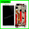 For Huawei P9 Plus LCD Display Touch Screen Digitizer Assembly With Frame P9Plus EVA-L09 VIE-L09 AL10 Replacement Parts 5.5 Inch