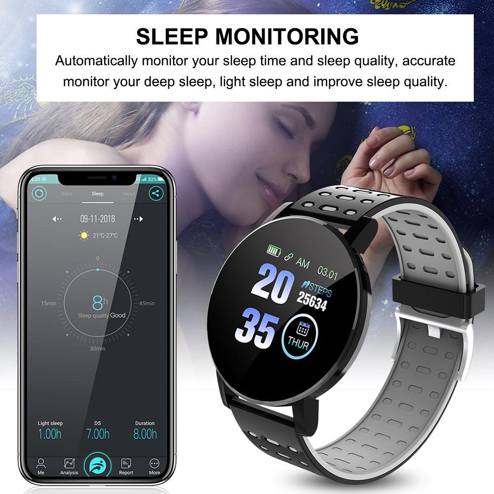 Спортивные Смарт часы браслет с высоким разрешением сенсорный