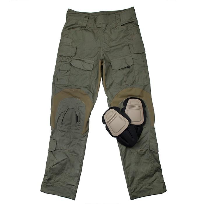 TMC 2020Ver. Ranger Green USA Size Tactical G3 Combat Pants With Knee Pads Set(SKU051196)