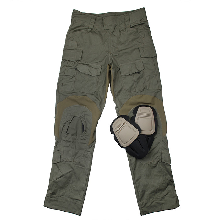 TMC 2020Ver. Ranger Green USA Size Tactical <font><b>G3</b></font> <font><b>Combat</b></font> <font><b>Pants</b></font> With Knee Pads Set(SKU051196) image