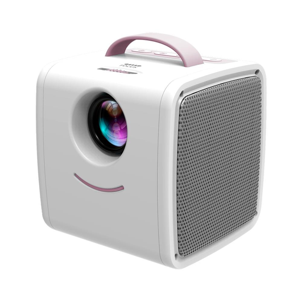 Lejiada q2 lcd mini projetor portátil suporte 1080p completo hd hdmi usb vga para crianças estudo presente de natal-5