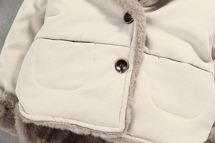 Image 5 - OLEKID Autumn Winter Baby Fleece Jacket Cartoon Hooded Plus Velvet Infant Boys Coat Newborn Baby Girls Outerwear Toddler Parka-in Jackets & Coats from Mother & Kids