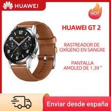 HUAWEI montre GT 2 GT2 46MM montre intelligente sang oxygène Tracker SPO2 Bluetooth 5.1 Smartwatch fréquence cardiaque Tracker contrôle de la musique