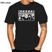 Camiseta con estampado de Terror para hombre y mujer, camiseta de marca a la moda, camisetas de algodón cmt