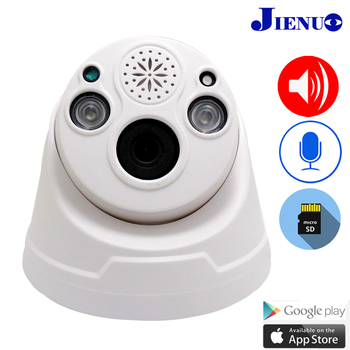 JIENUO Wifi Ip Camera 720P 960P 1080P Cctv Security Surveillance Wireless Cam TF Card Record Infrared Two way Audio Home Camera jienuo home camera wifi ip 1080p 720p audio dome cctv security hd surveillance indoor wireless infrared night vision monitor cam
