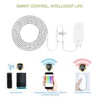 Yeelight-Tira de luces LED RGB 1S para casa inteligente, 2M, aplicación para hogares, WiFi, funciona con Alexa, asistente de Google Home, 16 millones de colores