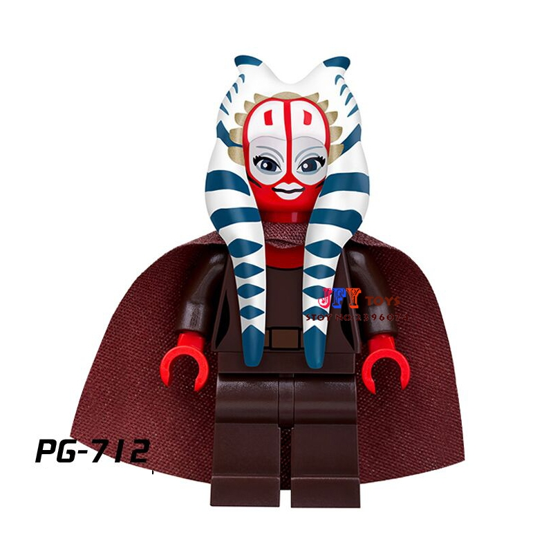 Single Super Heroes Marvel Shaak Ti Council Building Blocks Model Bricks Toys For Children Kits Action Figures