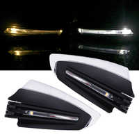 LEEPEE Motorcycle Hand Guards 22mm 7/8 1 Pair Universal with Turn Signal Light Motorcycle LED Hand Guard Shield Windproof