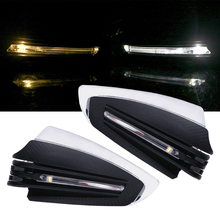 LLEEPEE 22mm Bar Handle with Turn Signal Light 7/8 Motorcycle Hand Guards Motocross LED Light Hand Guard Shield Windproof APair