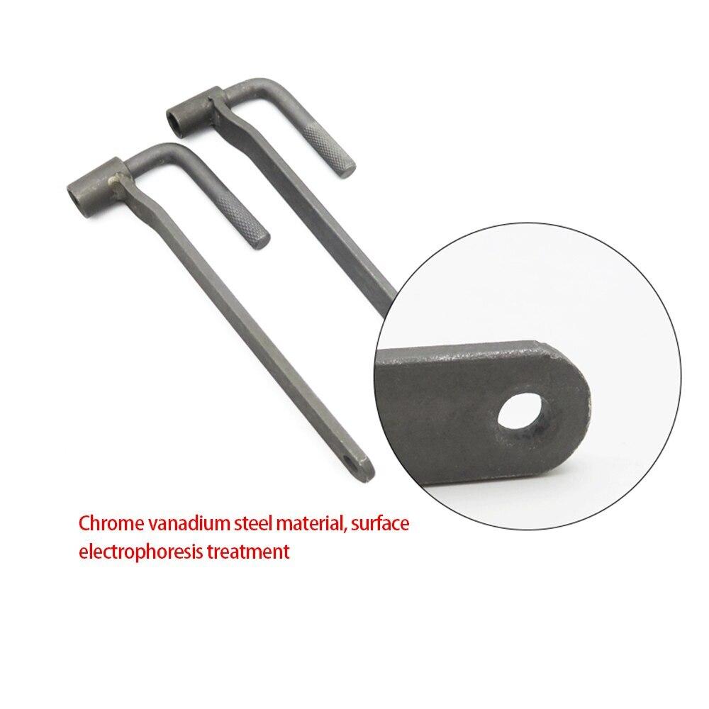 Universal Motorcycle Engine Valve Adjustment Tool Valve Screw Wrench 8mm 9mm 10mm Feeler Gauge Repair Tool