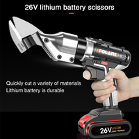 Hot Sale Electric Scissors Metal Sheet Cutting Shears Clipper Rechargeable 1 Battery Rotating Head Power Tool