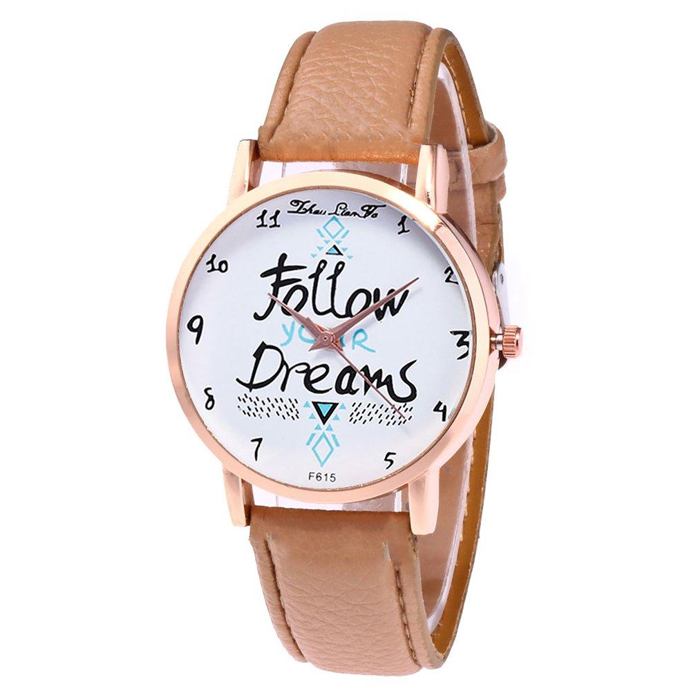 Top Brand Luxury Girl Quartzwatch Fashionable Leather Quartz Watch Women's Watches Ladies Wristwatch Girl Watch Waresale