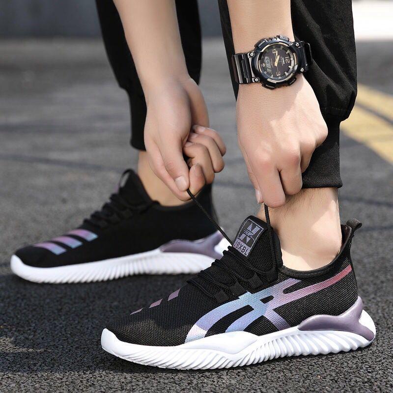 Men's Breathable Shoes  Non-slip Low-top Running Shoes Men  6