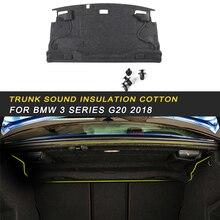 Автомобильный багажник межсетевой экран коврик накладка Deadener внутренний термозвук изоляция хлопок для BMW 3 серии F30 2012- авто