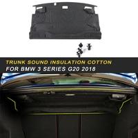 Car Trunk Firewall Mat Pad Cover Deadener Interior Heat Sound Insulation Cotton For BMW 3 Series F30 2012 2018 Auto