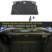 Car Trunk Firewall Mat Pad Cover Deadener Interior Heat Sound Insulation Cotton For BMW 3 Series F30 2012 2018 Auto