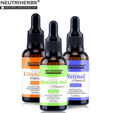 Neutriherbs Face Serum Set with 20% Vitamin C, 5% Hyaluronic Acid, 2.5% Retinol Serum Facial Skin Care Beauty 3 In 1 Set