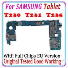Материнская плата для Samsung Galaxy Tab 4 T230 T231 T235, материнская плата для Samsung Galaxy Tab 4 T230 T235, с Android, протестирована, хорошо работает, MB