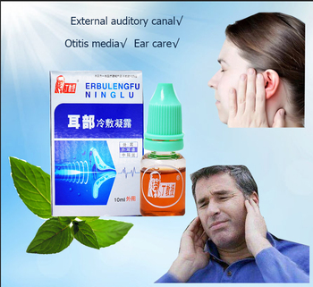 Ucho zimny kompres leczenie ucha ostre zapalenie ucha środkowego swędzenie ucha fizjoterapia szum w uszach głuchota i głuchota opieka zdrowotna tanie i dobre opinie CN (pochodzenie) Ear gel 10ml