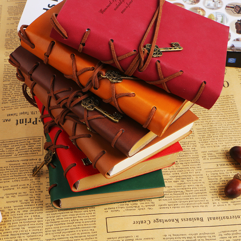 2020 Leather Writing Journal Notebook Classic Ket Bound Reteo Diary Notebook Sketchbook Gift For Boys And Girls Vintage Notepad