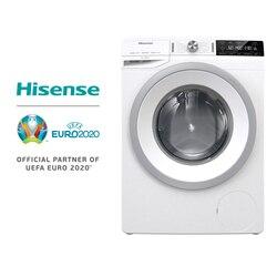 Hisense WFGA9014V стиральная машина, объем барабана 64л, 1400 об/мин, Задержка запуска, экологический обзор, емкость мойки 9кг, сенсорная кнопка