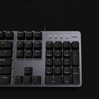 Xiaomi MIIIW 600K Mechanical Keyboard Gaming Keyboard Backlit 104Key Kailh Red Switch USB Wired Keyboard Mouse & Pad Set 4