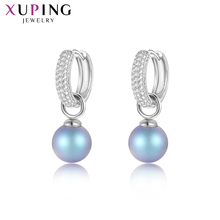 Xuping Jewelry Trendy Earrings Classic Crystals from Swarovski Luxury for Women Exquisite  Valentine's Day Gift M85-20436
