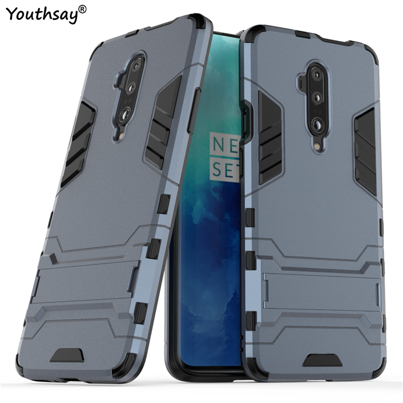 For <font><b>Oneplus</b></font> 7T Pro <font><b>Case</b></font> Cover For <font><b>Oneplus</b></font> 7T Pro 7 <font><b>6T</b></font> 6 Rubber Protective Hard <font><b>Bumper</b></font> Robot Armor Phone <font><b>Case</b></font> For <font><b>Oneplus</b></font> 7T Pro image