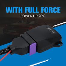 Plug amp play inteligentny wieloczęstotliwościowy wzmacniacz zapłonu oszczędzanie paliwa w celu poprawy wydajności spalania silnika wzmocnienie mocy iskier tanie tanio CN (pochodzenie) JTK212 black metal+abs