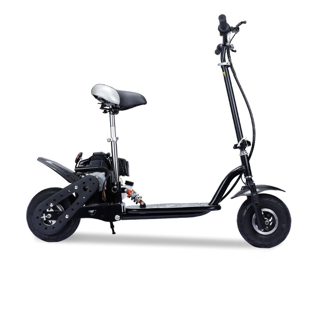 Foldable Gas Gasoline Scooters 2-Stroke 4-Stroke Fuel Power Mini Pedal Scooter Motor Dirt Bike Mini motorcycle 1