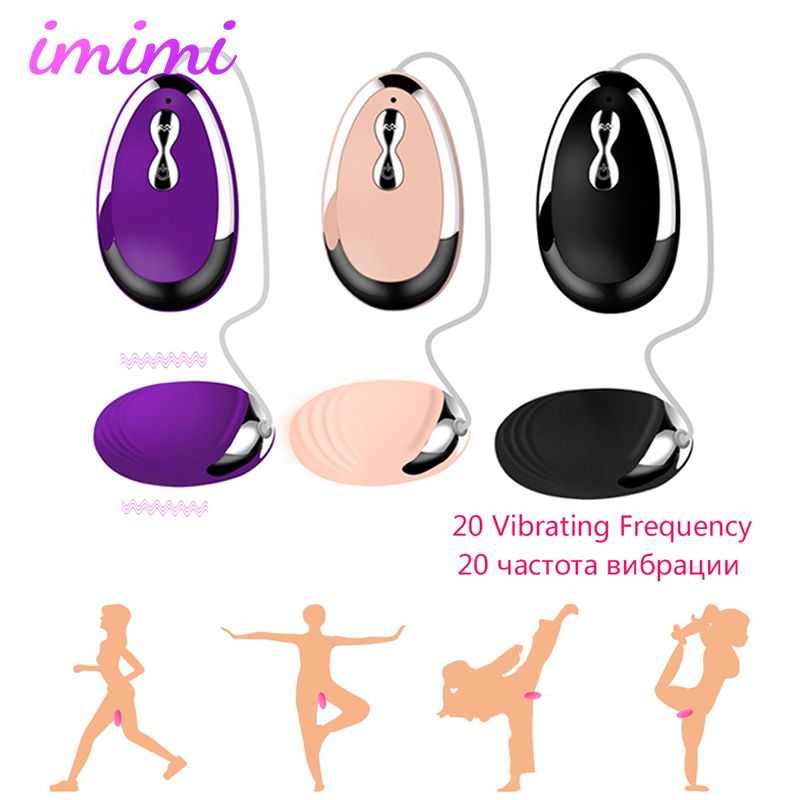 Remote Control Mini Vibrating Egg for Women Clitoris Stimulator Exerciser Kegel Balls Vaginal Massage Masturbator Jumping