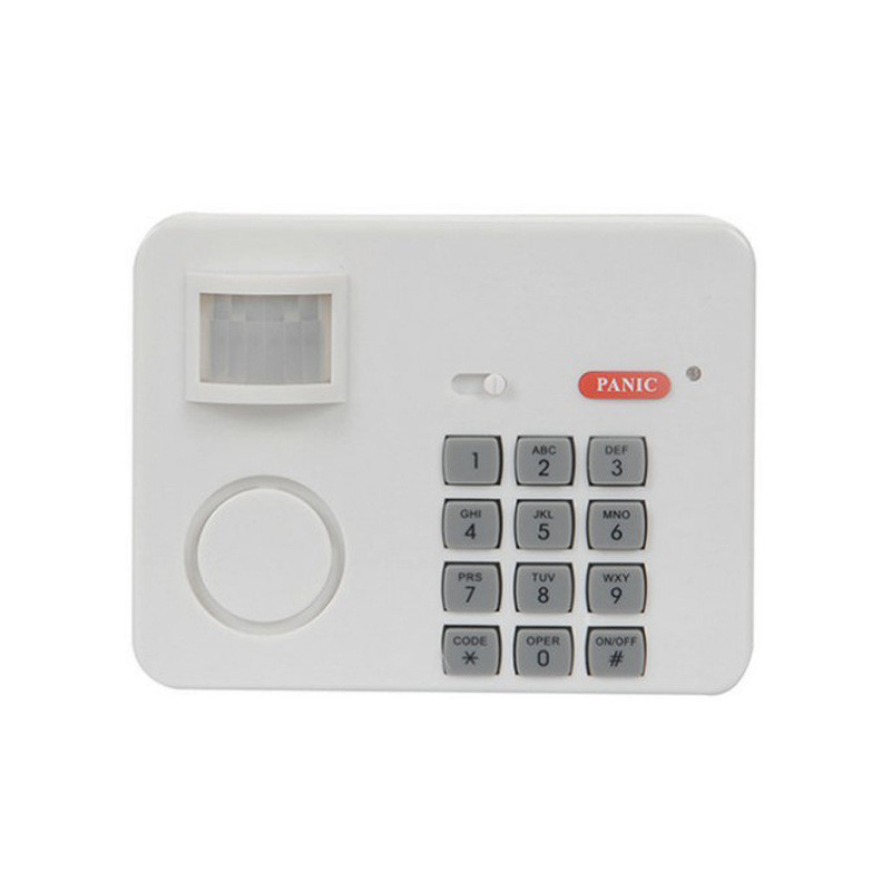 Home Alarm Systen Wireless Motion Sensor Detector Alarm With Security Keypad PIR For Home Garage Shed Caravan High Sensitivity
