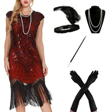 1920s flapper vestido great gatsby festa noite lantejoulas franjas vestidos vestido