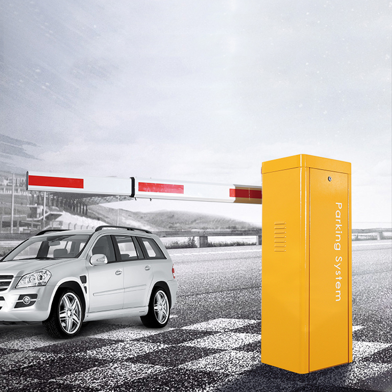 Parking Barrier UHF RFID Electronic Safety Boom Parking Aluminum Arm Gate Gate Driving Road Remote Control Square Park Gate