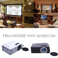 UC18 LCD FHD projecteur intelligent 3D 1920*1080P Mini Interfaces projecteur prise en charge USB AV HDMI Film cinéma maison Film