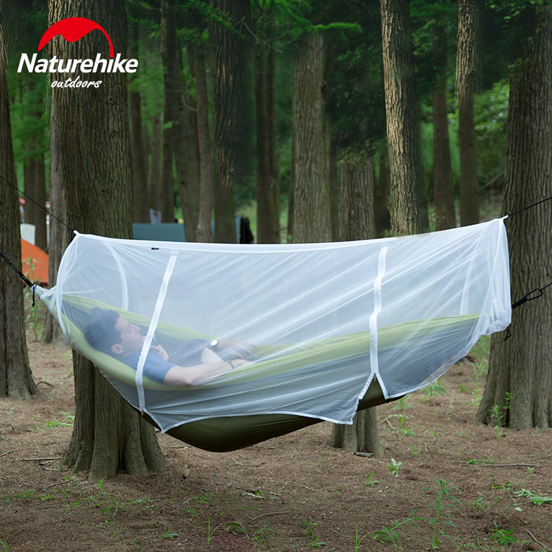 Naturehike Hammock Mosquito Net Ultra-Light Breathable Outdoor Camping Adult Single Double Hammock Universal Mesh Enclosure