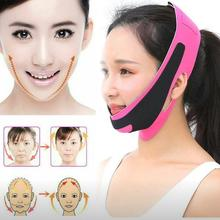 V Face Line Belt Double Chin Face Bandage Slim Lift Up Anti Wrinkle Mask Strap Band Women