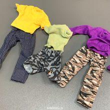 6 pces 1/6 escala soldado roupas acessórios para 12