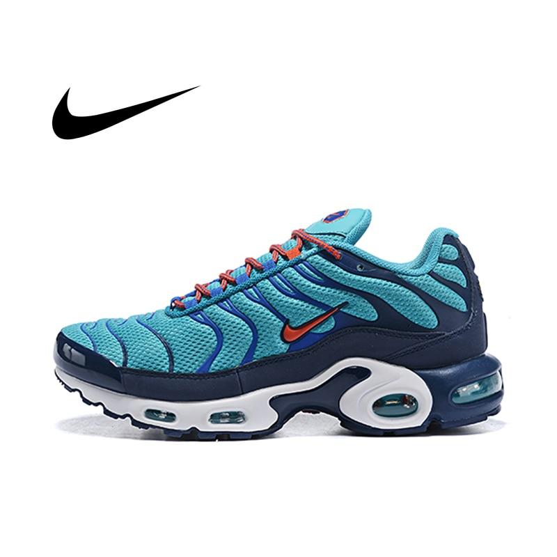 Nike Air Max Plus Original Men's Running Shoes Outdoor Breathable Comfort Sneakers Designer Shockproof Jogging Footwear Athletic