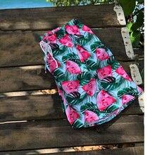 Новые пляжные шорты с принтом для мужчин, дышащие плавки для серфинга, быстросохнущие плавки, штаны с карманом, мужские трусы, купальный костюм