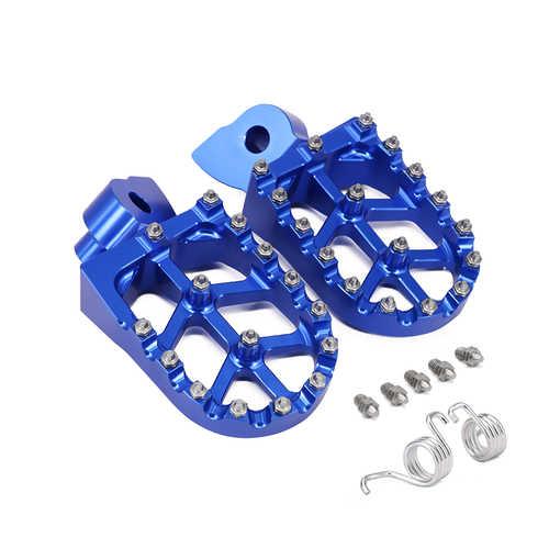 Motosiklet CNC ayak pedalı pedalı Footrest YAMAHA YZ 85 125 250 YZ250F YZ426F YZ450F YZ250X YZ250FX YZ450FX WR250F WR400F WR426F