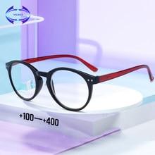 VCKA Óculos de Leitura Mulheres Homens Ultraleves Primavera perna Idosos TR90 Dioptria Óculos Para Presbiopia 1.0 1.5 2.0 2.5 3.0 3.5 4.0