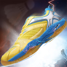 Men Professional Training Badminton Shoes Outdoor Breathable Sneakers Youth Non-slip Light Comfortable Sports Shoes High Quality li ning women s professional cushion badminton training shoes breathable sneakers lining double jacquard sports shoes aytm078