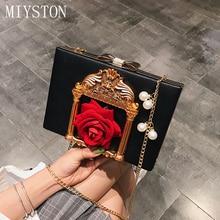 Luxury Women Handbag Evening Bags For Party Wedding Chain Shoulder Bag Ladies Fashion Women Messenger Clutch Box Bag стоимость