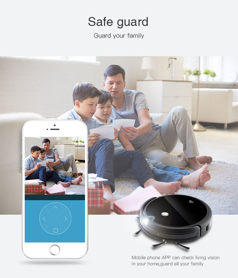 H89b78c79af89421fa8ec21b551a6c27cv IMASS A3S Robot Vacuum Cleaner Powerful Suction For Camera Navigation Various Cleaning Mode With APP Control Auto Charge Mopping
